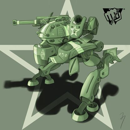 Picture of Fist of War Mech setting draft 3